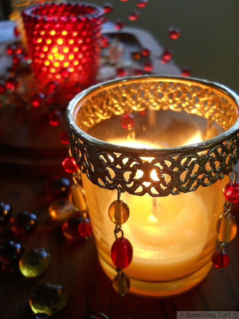 Jeweled Candle Holders