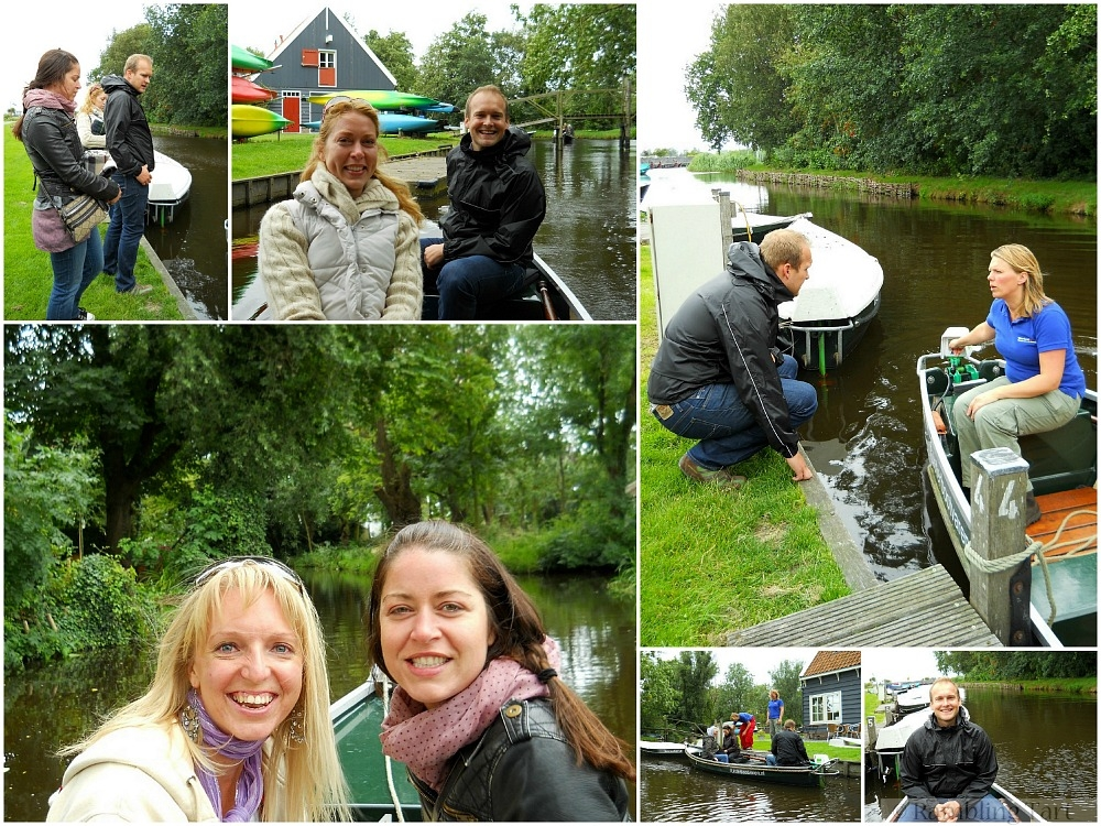 Canal Boat Collage