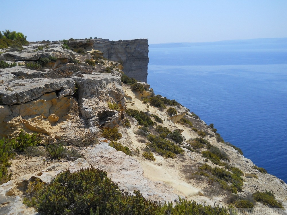 Sannat cliffs