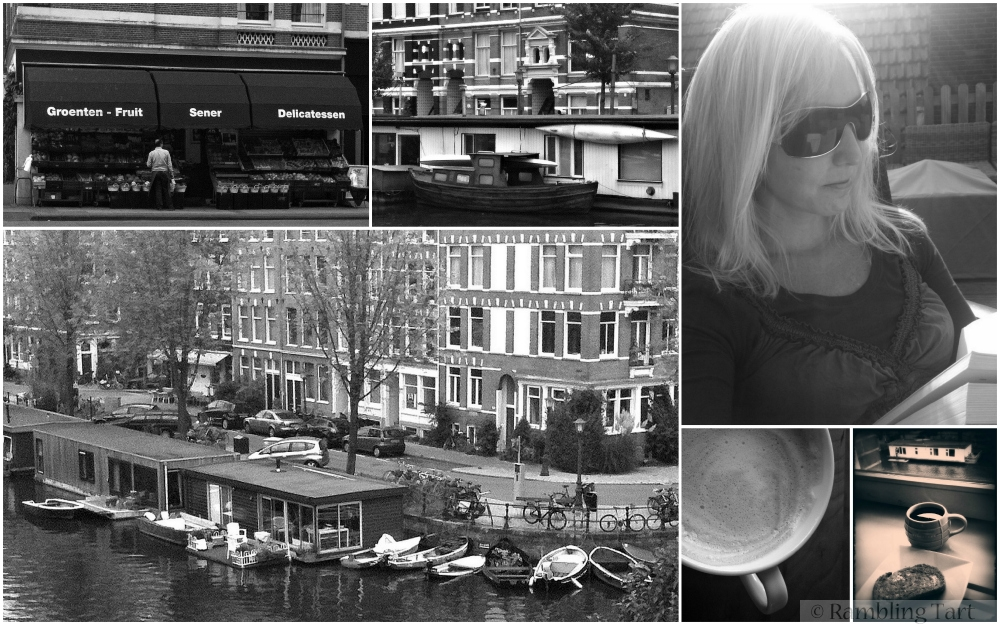 black and white Amsterdam