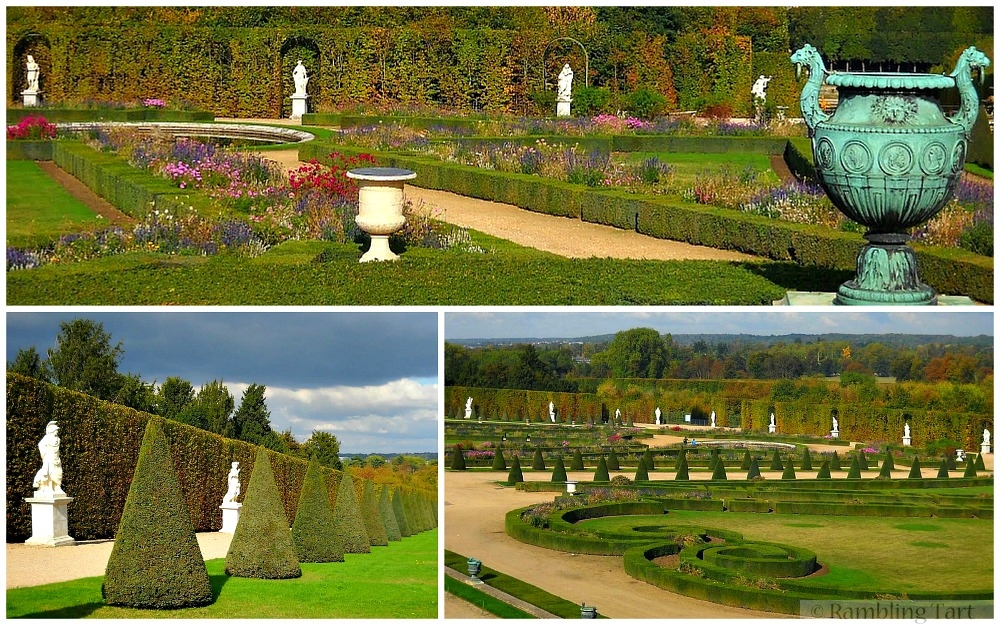 Versailles gardens in Autumn