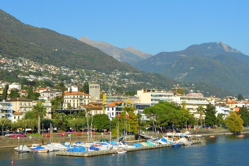 Locarno Bay Switzerland