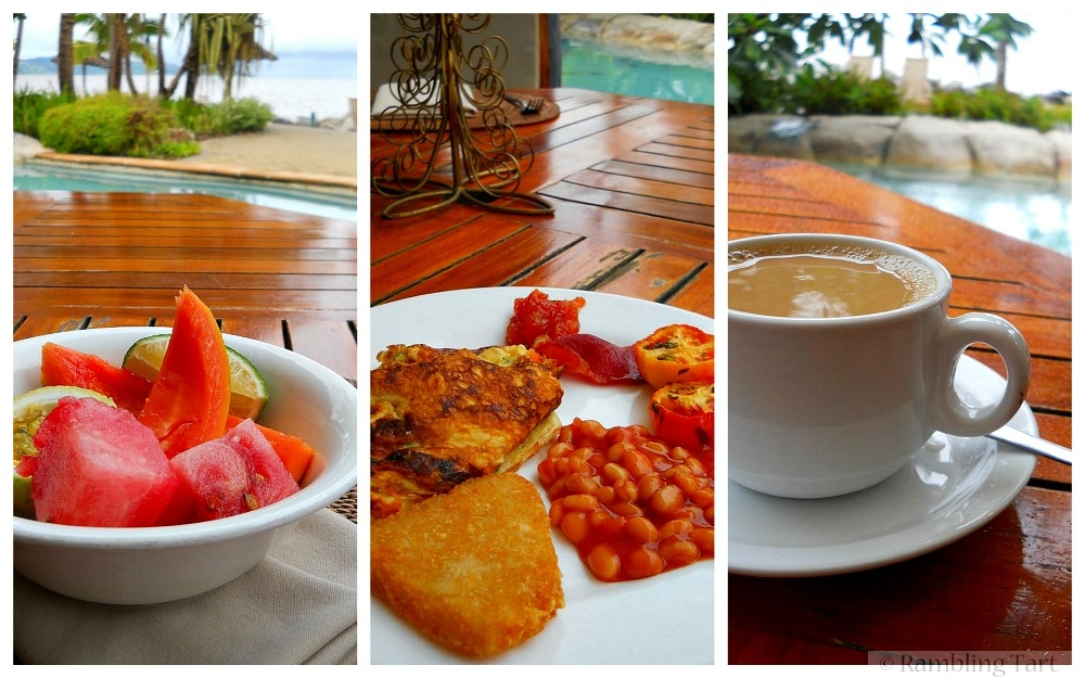 breakfast in Fiji
