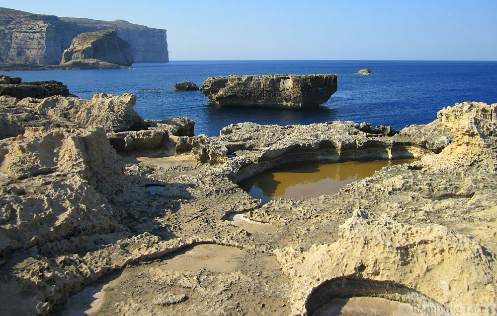 tidepools on Gozo