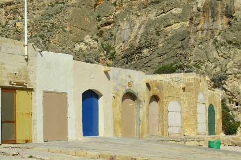 Gozo boat shed