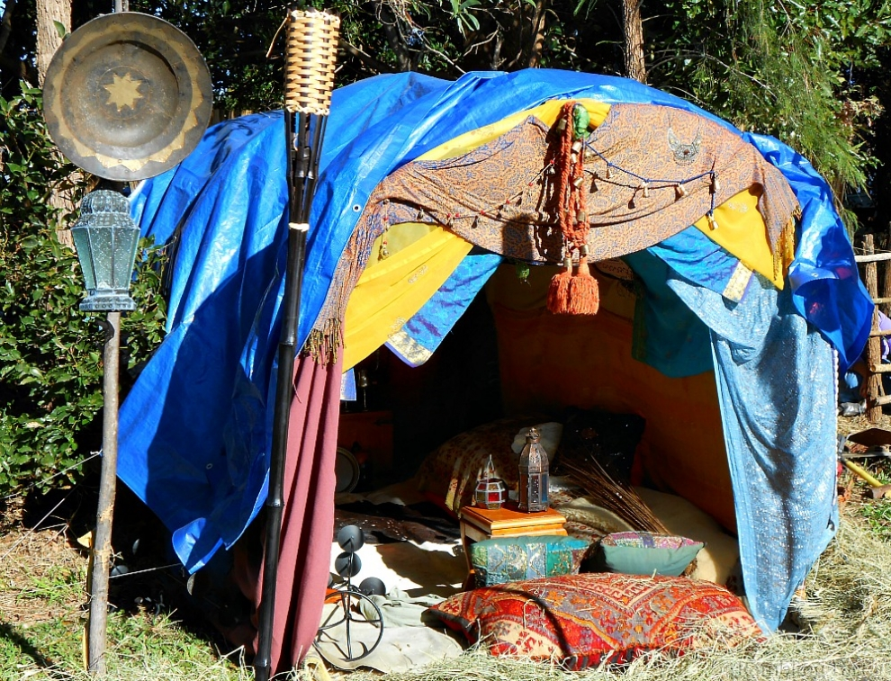 medieval gypsy tent