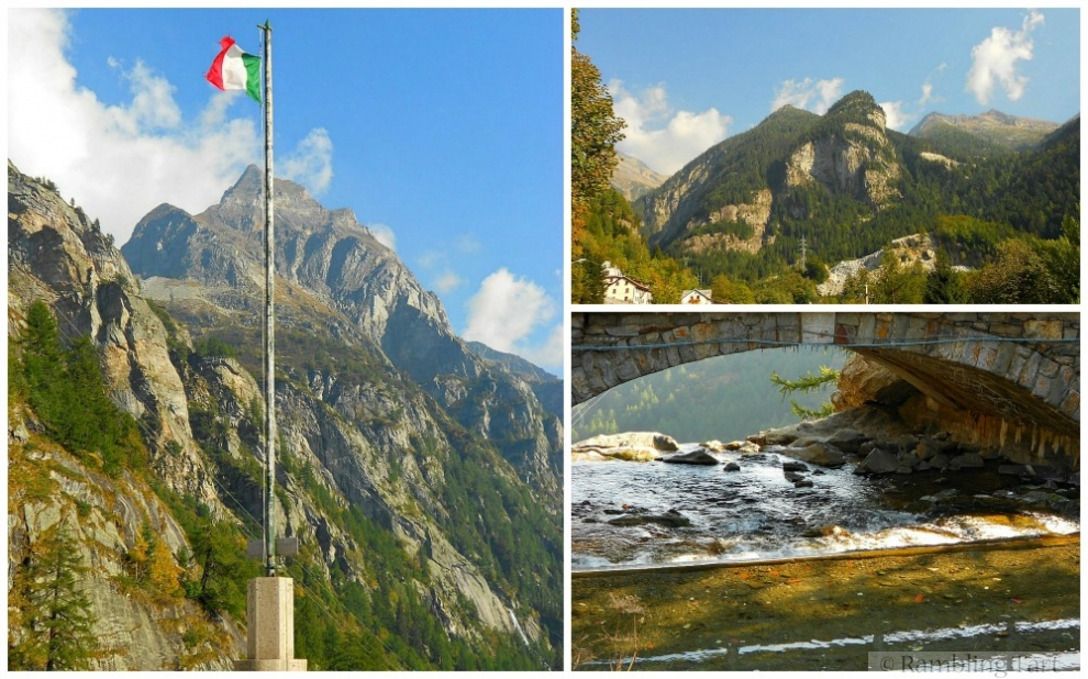 Italian Alps in summer