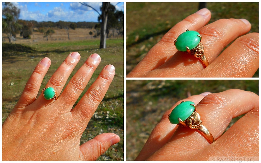 jade engagement ring