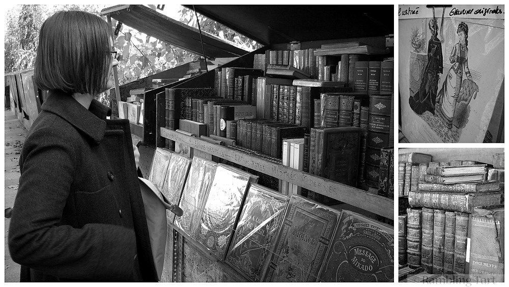 Paris bookstalls