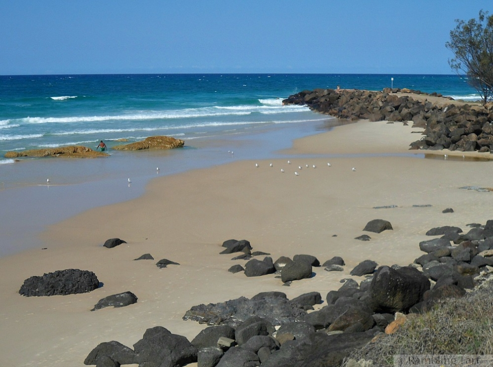 beach at Coolangatta