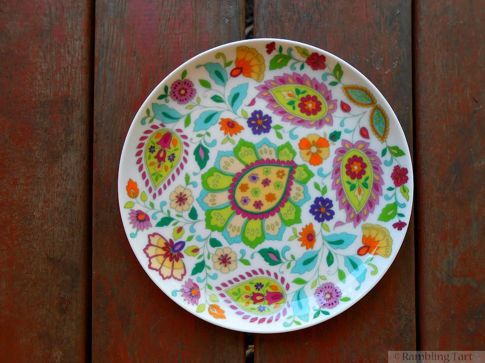 pretty little plate