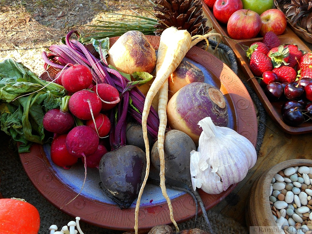 bowl of medieval vegetables