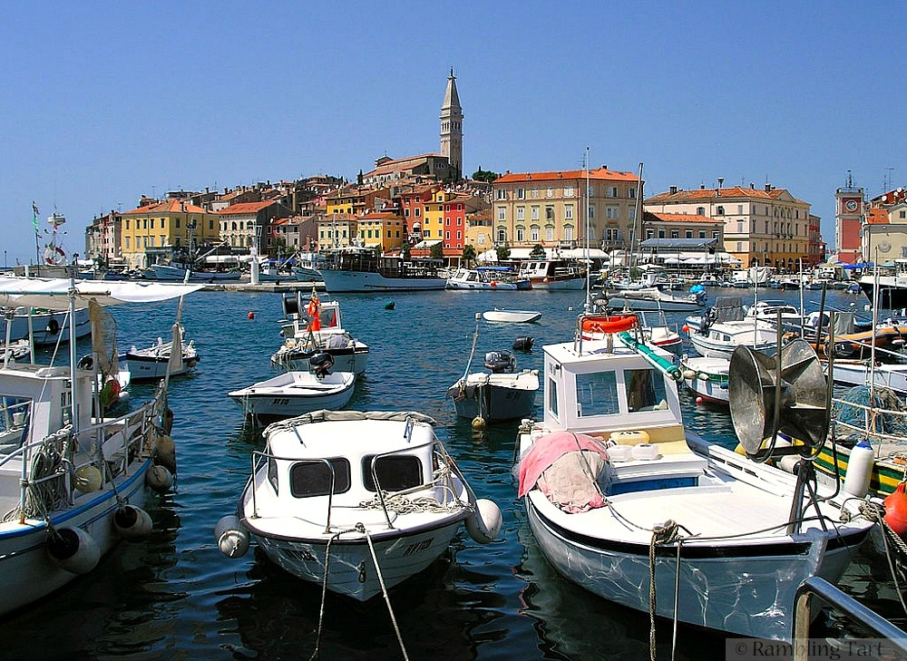 Rovinj, Croatia by David Orlovic