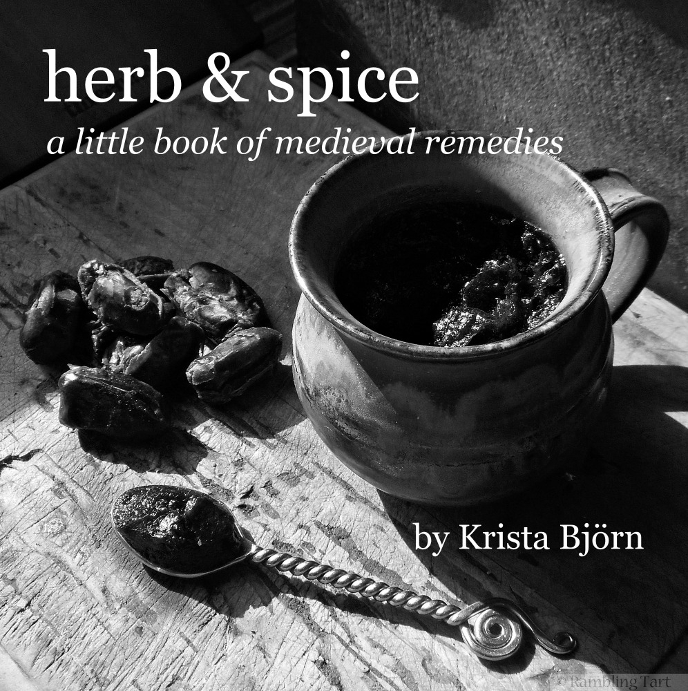 herb & spice a little book of medieval remedies