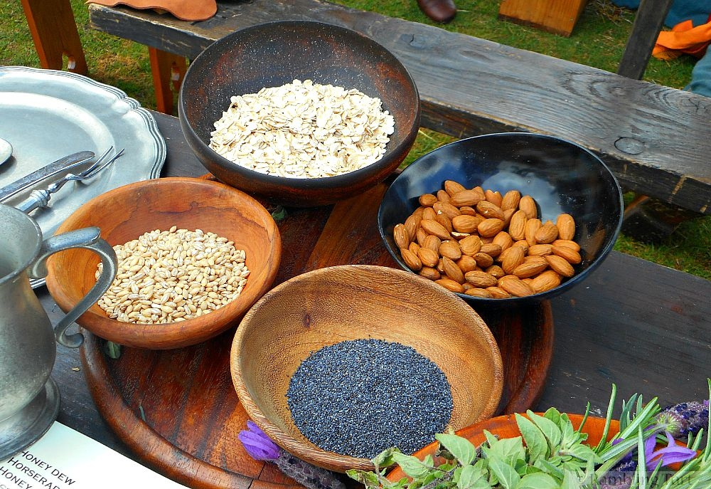 medieval nuts and seeds