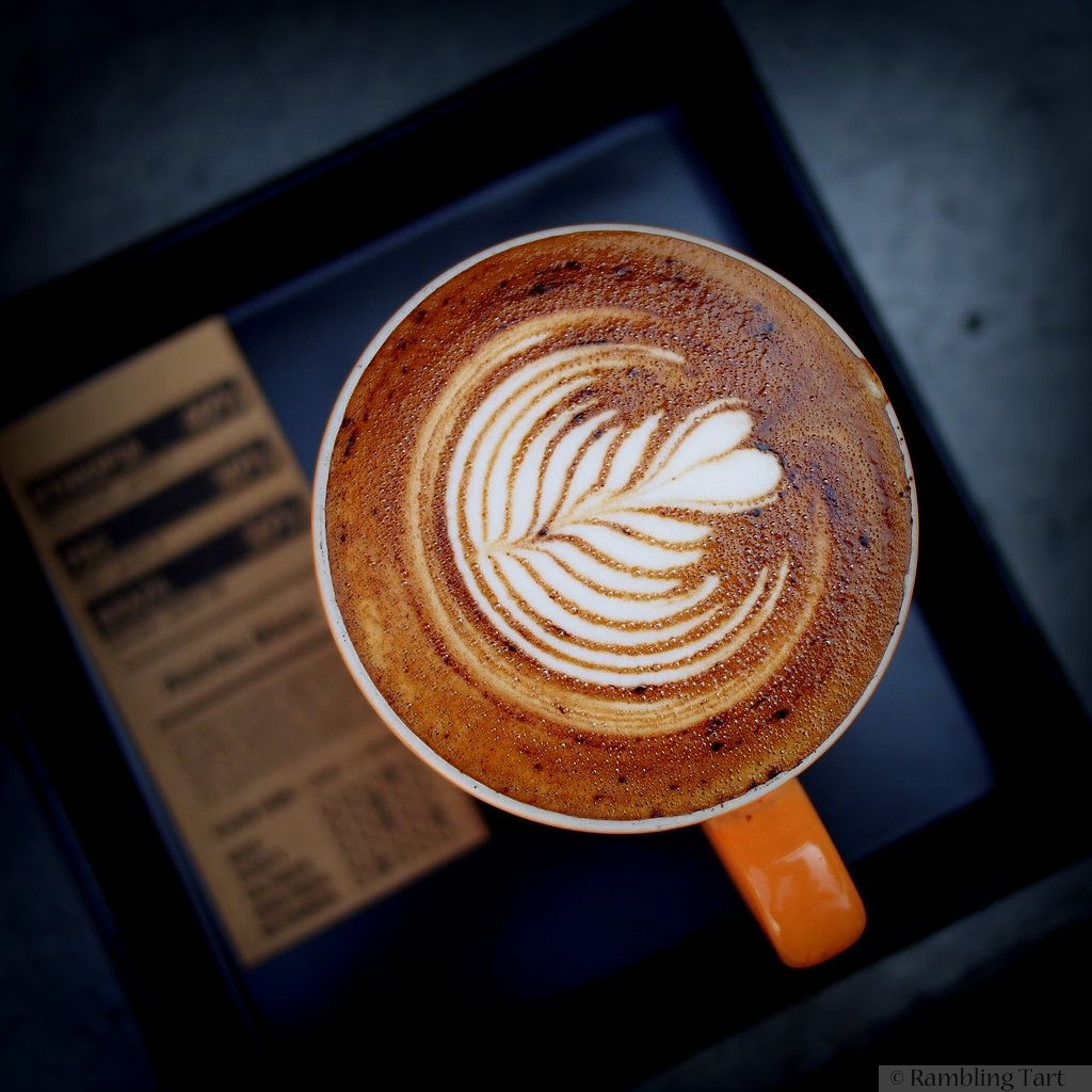 cappuccino in Chiang Mai, Thailand by Takeaway