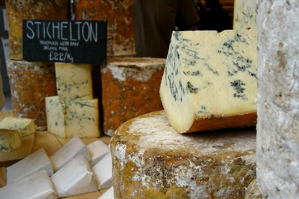 stichelton cheese by Jeremy Keith