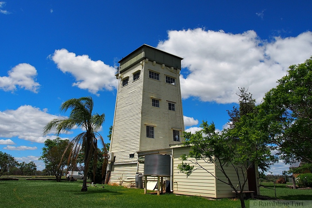 Jimbour water tower