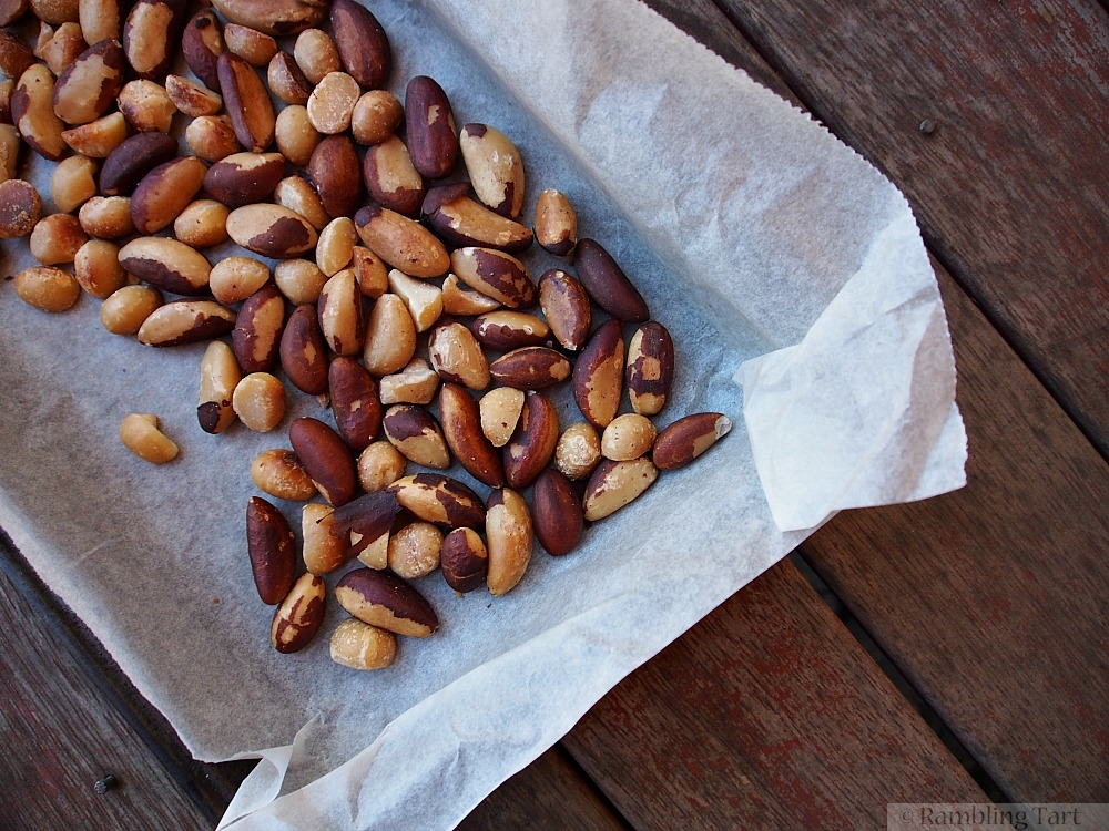 pan of roasted nuts