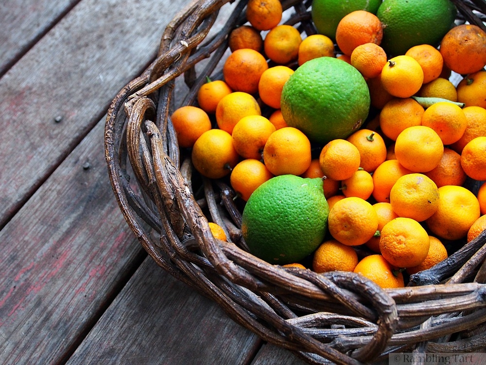 limes and kumquats
