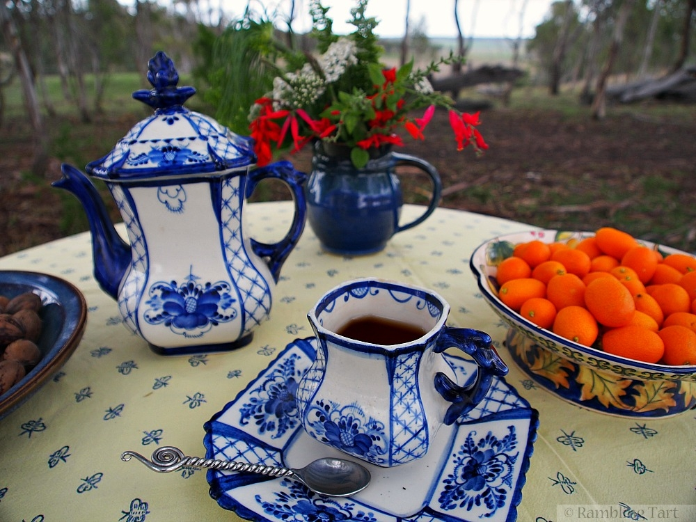 Russian tea set