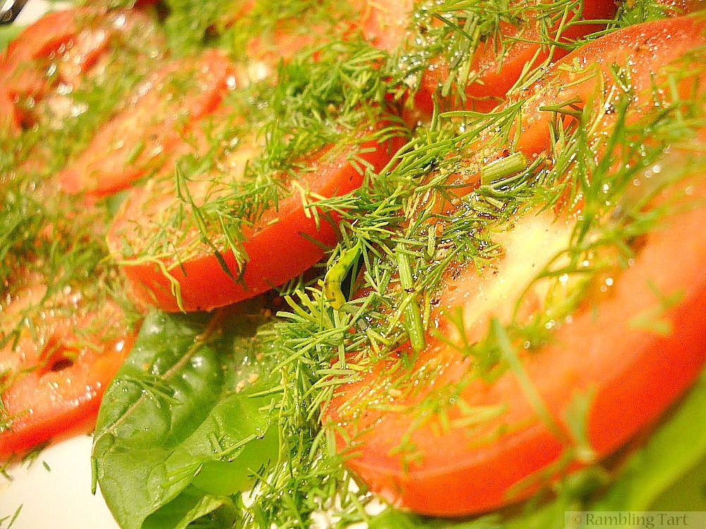 Tomatoes with Dill