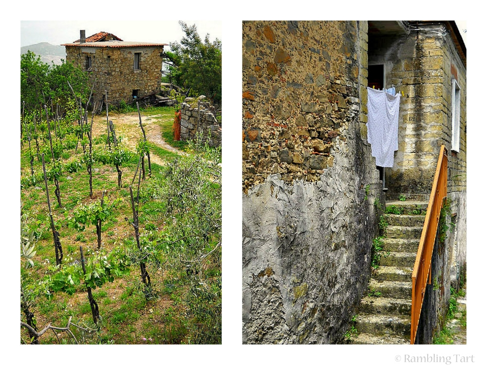 stone italian houses