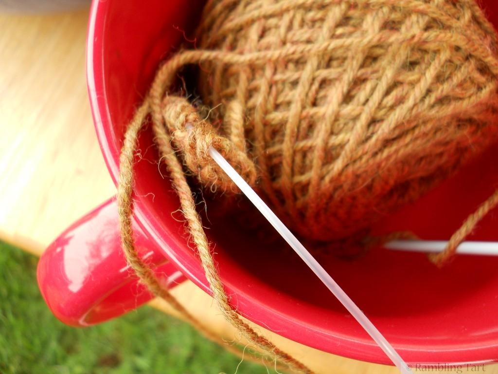 coarse yarn