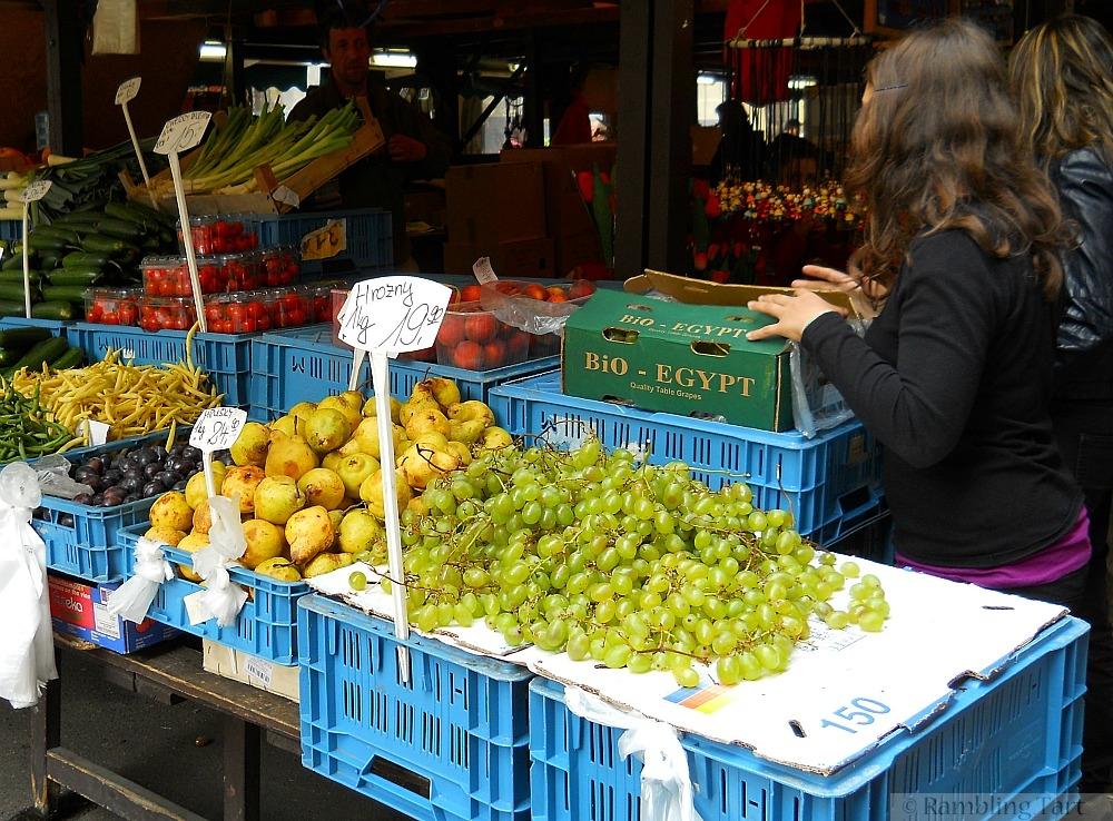 Prague food market