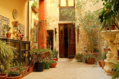 Maltese courtyard
