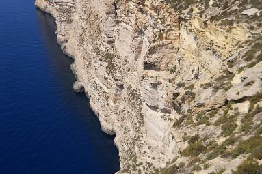 Gozo cliff