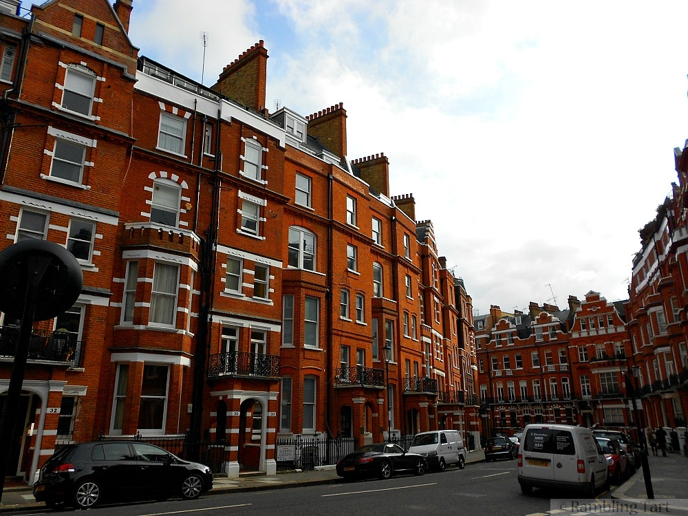 London red brick homes