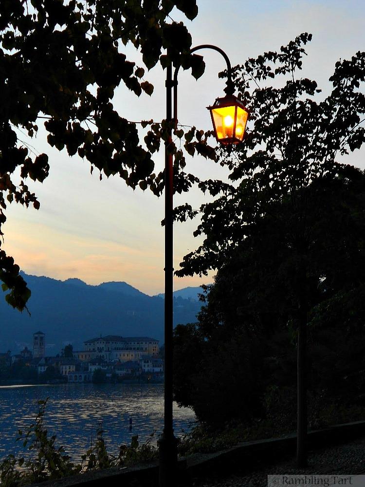 street lamp in Italy