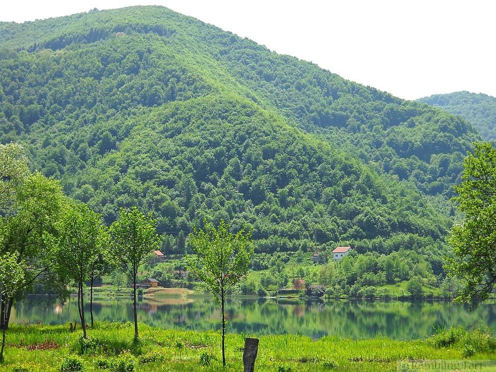 Bosnian lake