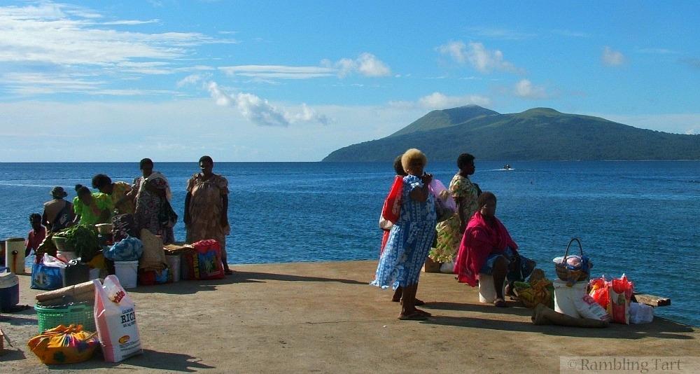 Nguna Island ferry dock