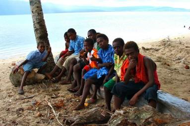 boys from Vanuatu