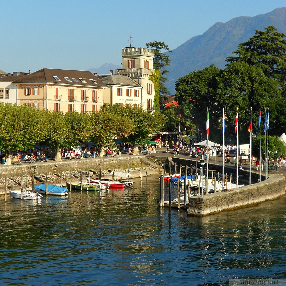 Swiss towns on Lake Maggiore