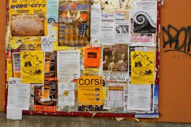 Bologna bulletin board