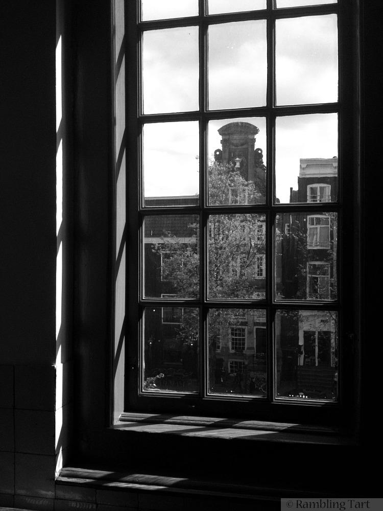 light through a window