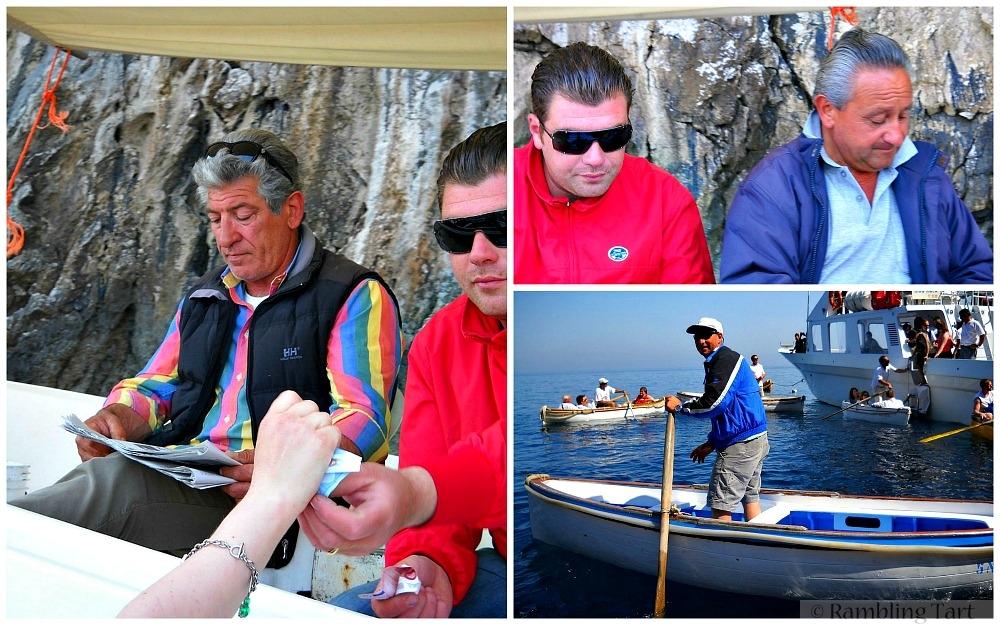 Capri boat drivers