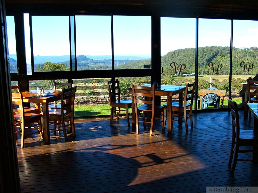 Preston Peak Winery dining room