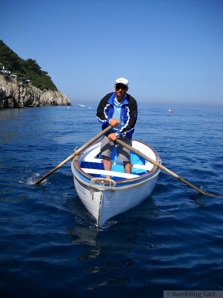 Blue Grotto boat