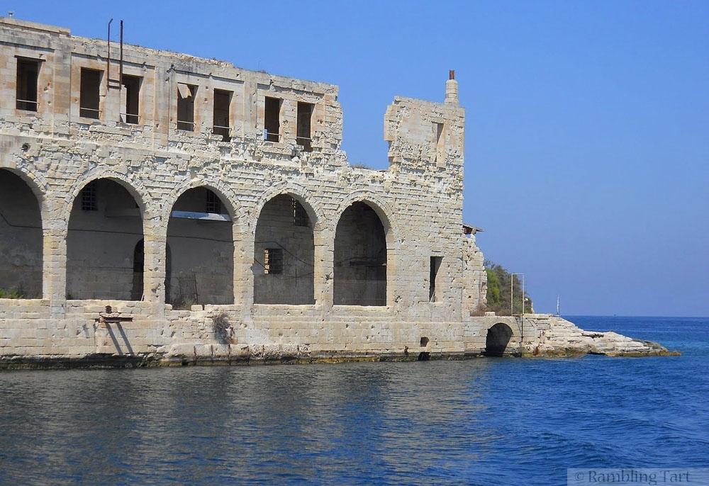 ruins of Malta