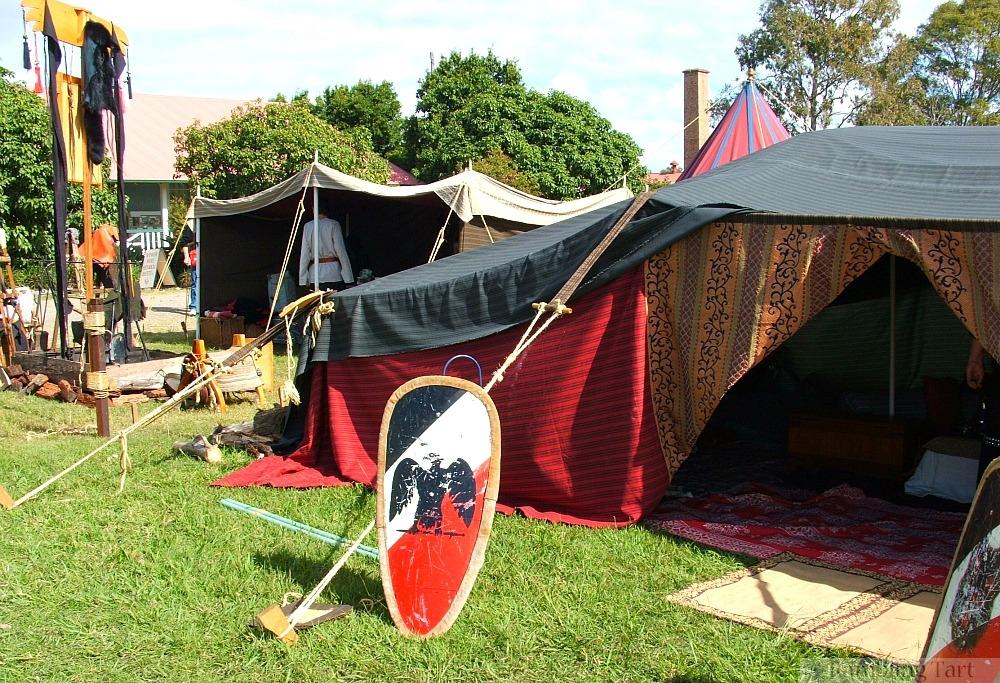 medieval Bedouin tent