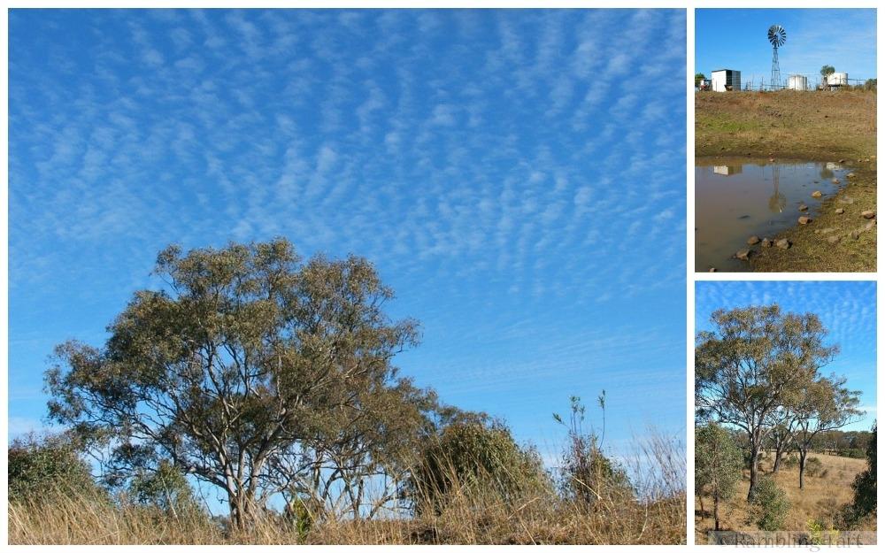 Queensland blue sky