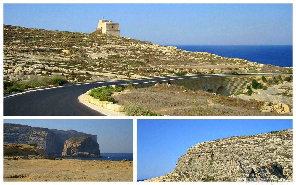 road to the sea Gozo