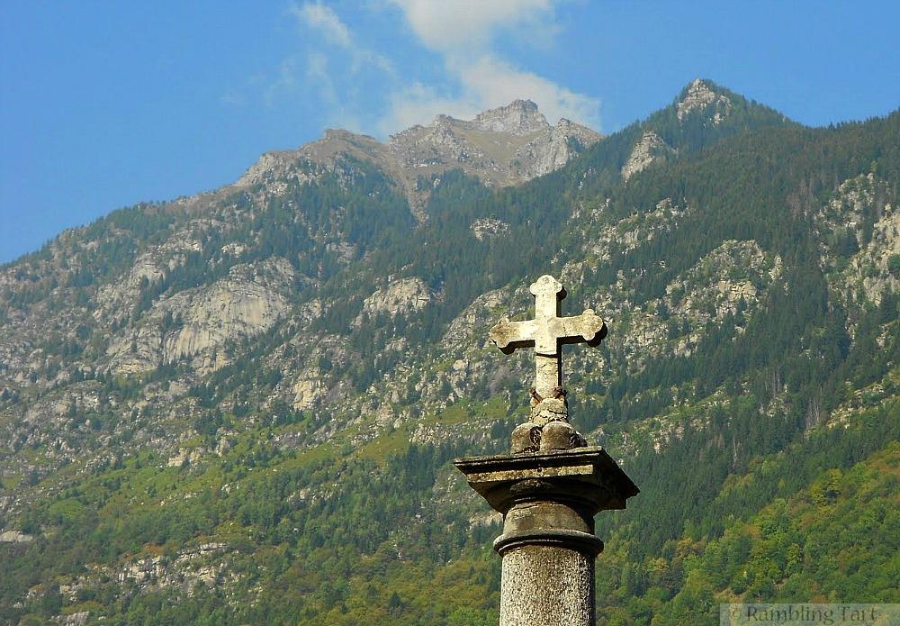 Italian stone cross