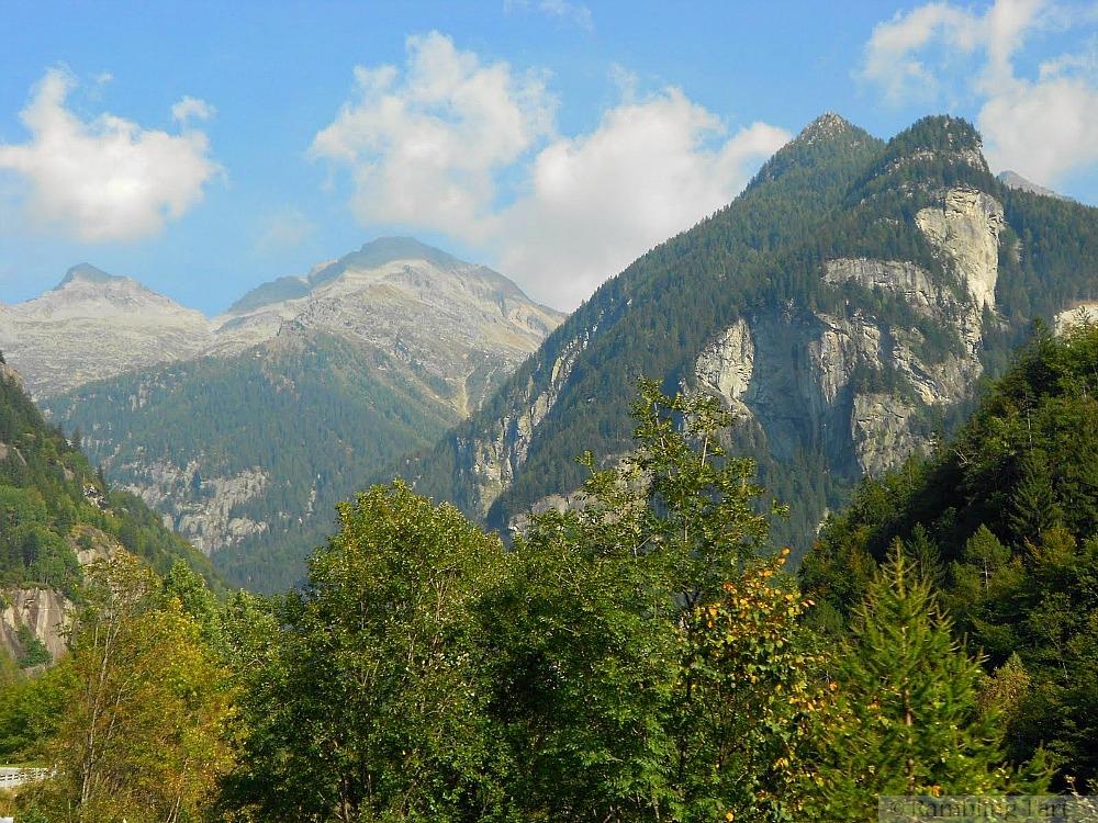 Italian Alps mountains