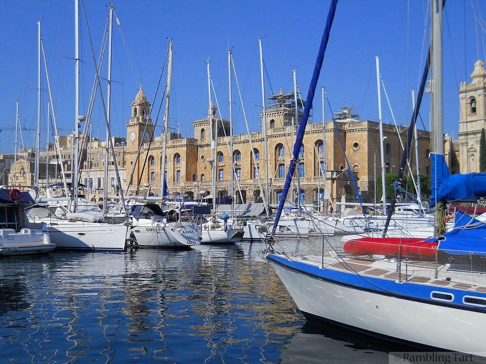 Maltese boat harbor