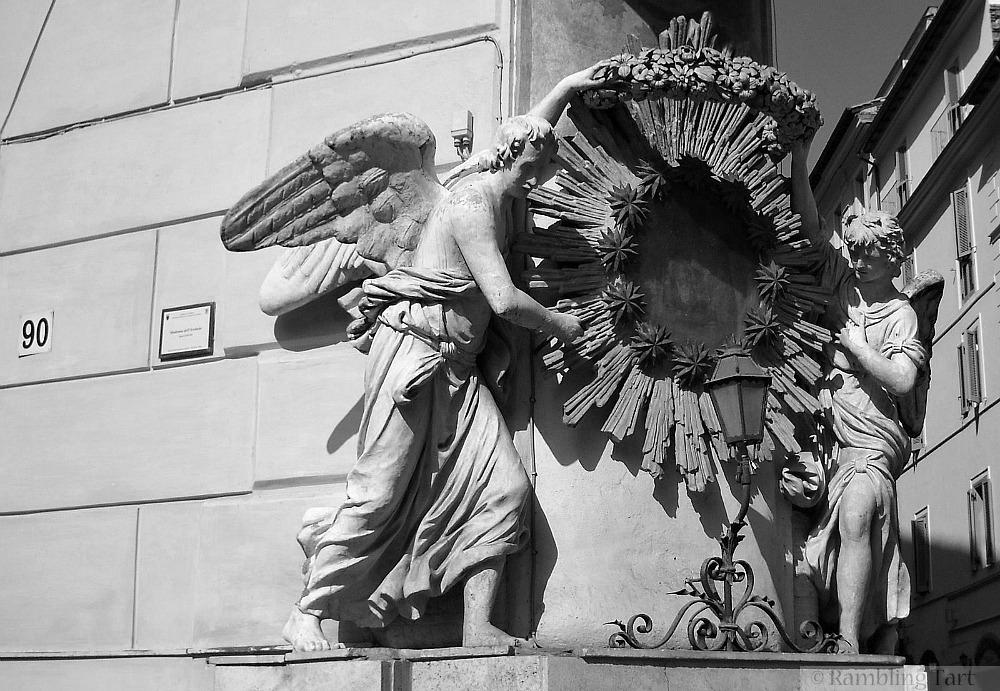 Rome street corner